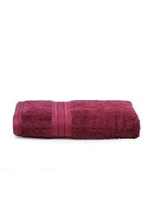 trident classic plus bath towel fig wine 2