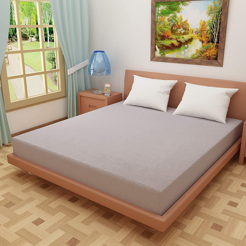 Dream Care Grey Color Mattress Protector