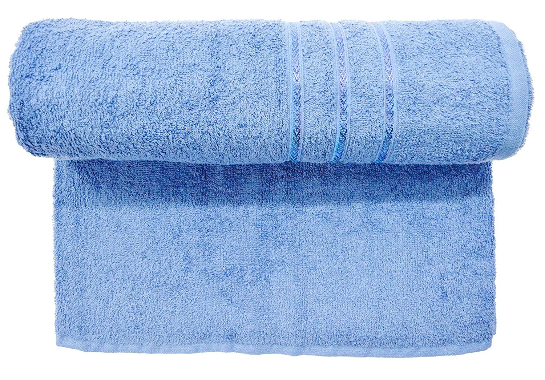 Bombay Dyeing Flora Towel Light Blue