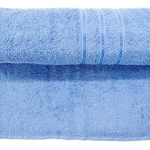 Bombay Dyeing Flora Towel Light Blue