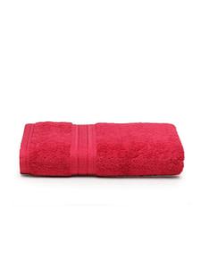 trident classic plus bath towel raspberry red 2