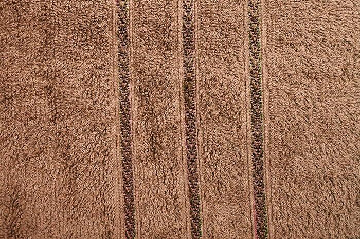 Bombay Dyeing Flora 400 GSM Brown Bath Towel