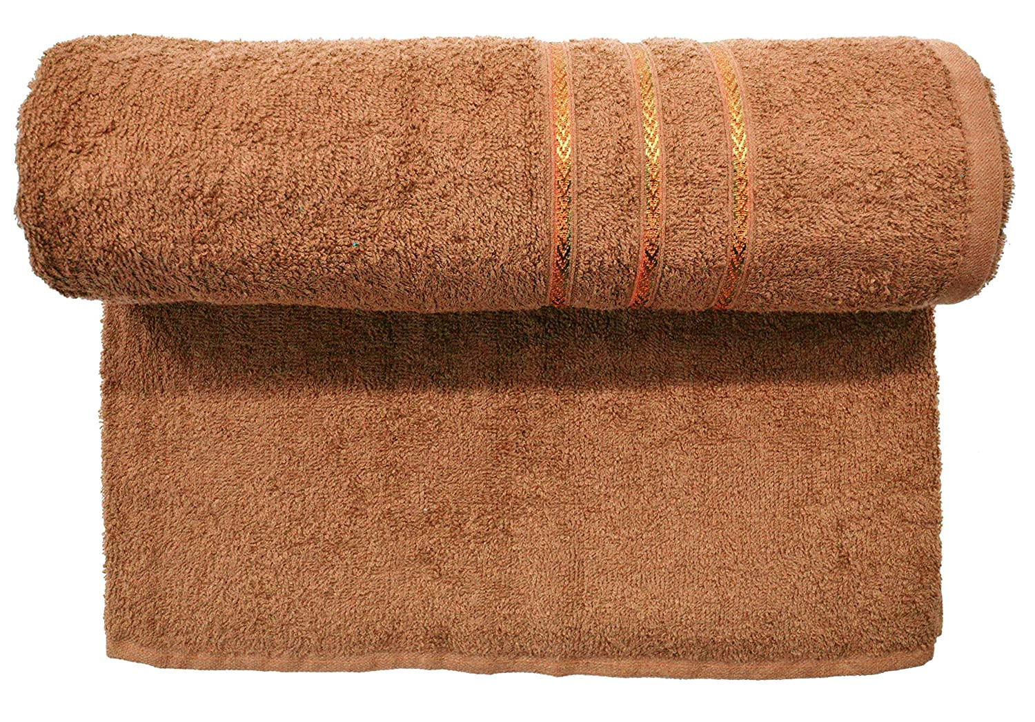 Bombay Dyeing Flora 400 Gsm Brown Towel