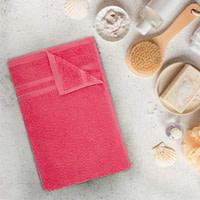 Welspun Quick Dry 375 GSM Bath Towel Coral
