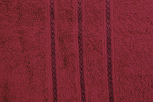 Bombay Dyeing Flora 400 GSM Large Maroon Towel