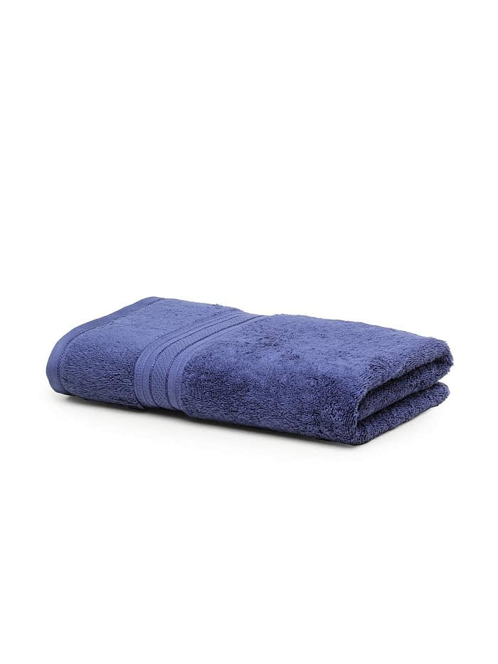 trident classic plus bath towel medieval blue 1