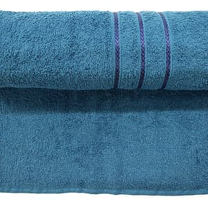 Bombay Dyeing Flora 400 GSM Ink Blue Towel