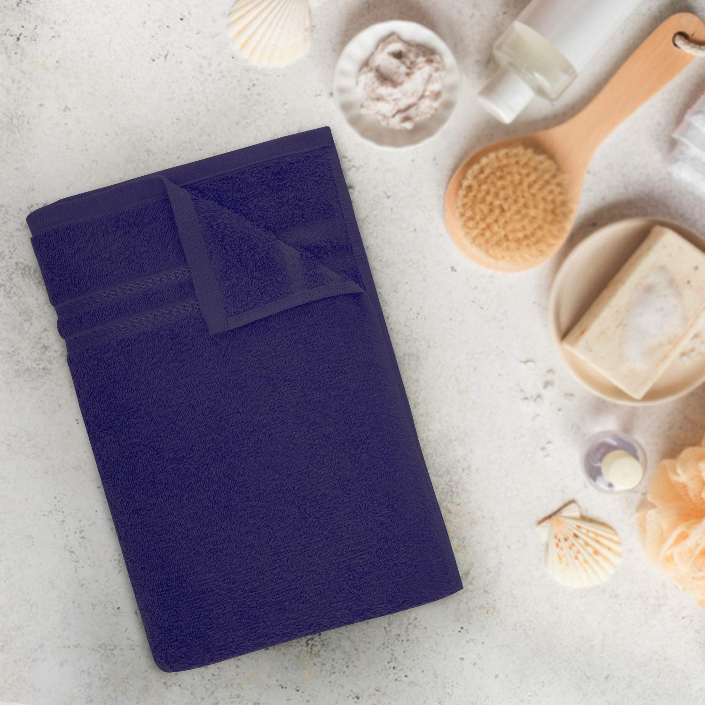 Welspun Quick Dry 375 GSM Bath Towel Dark Blue
