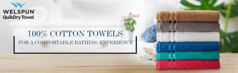 Welspun Quik Dry Towel