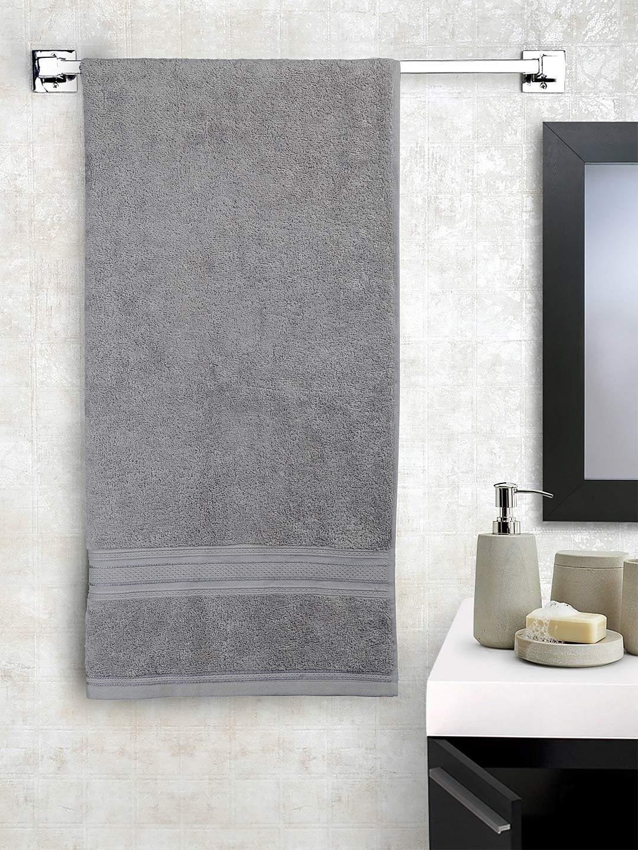 Trident Classic Plus Bath Towel Real Steel