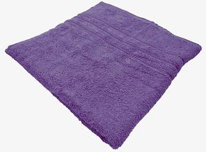Bombay Dyeing Flora 400 GSM Cotton Large Purple Towel