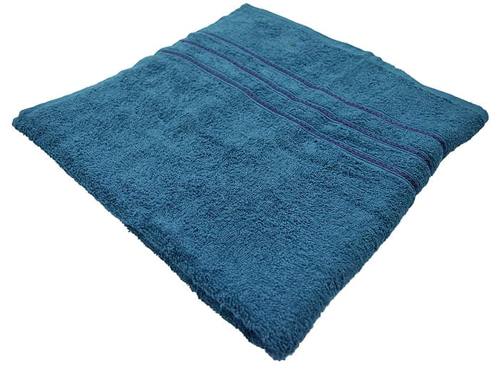 Bombay Dyeing Flora 400 GSM Cotton Large Ink Blue Towel