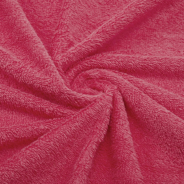 Welspun Quick Dry 375 GSM Cotton Large Bath Towel Coral