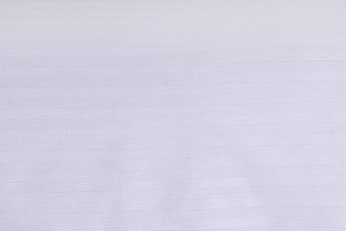 king size white satin stripe bedsheet