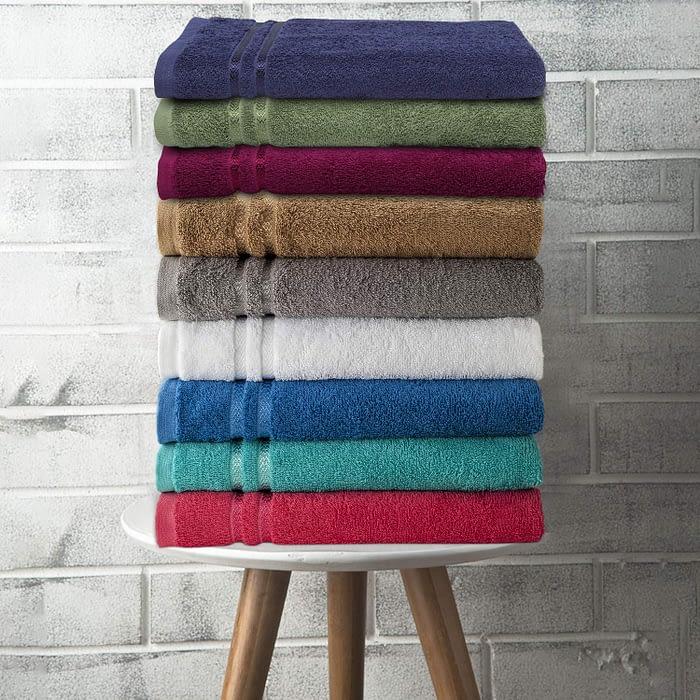 Welspun Quick Dry 375 Gsm Bath Towel Shade Chart