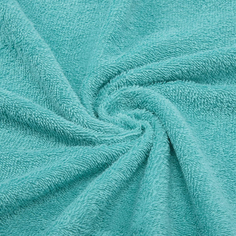 Welspun Quick Dry 375 GSM Cotton Large Bath Towel Sea Green