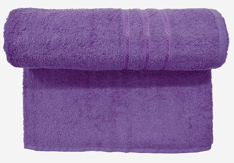 Bombay Dyeing Flora 400 Gsm Purple Towel