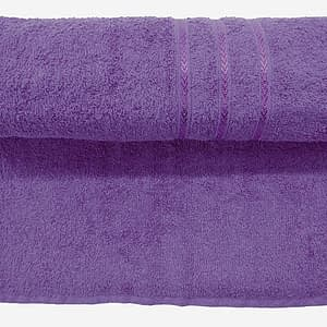Bombay Dyeing Flora 400 Gsm Purple Towel