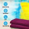 Welspun Quick Dry 375 GSM Large Bath Towel Magenta