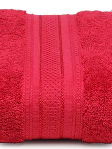 trident classic plus bath towel raspberry red 3