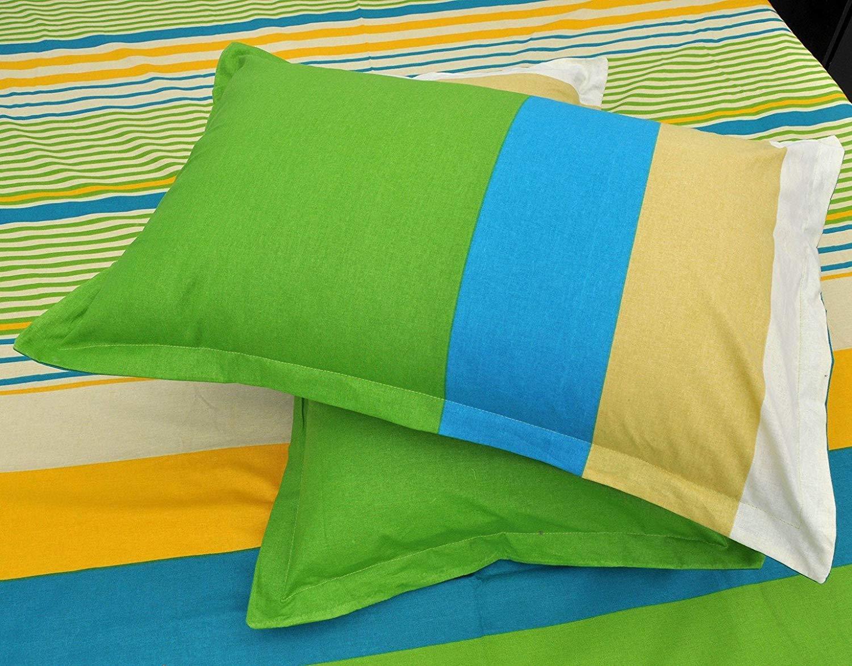 URBANA Green Bed Sheet Pillow