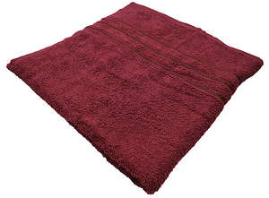 Bombay Dyeing Flora 400 GSM Cotton Large Maroon Towel