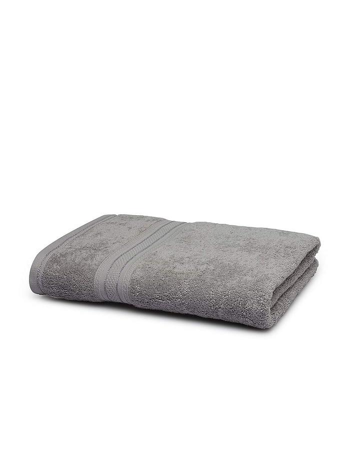 trident classic plus bath towel real steel 1