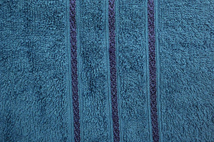 Bombay Dyeing Flora 400 GSM Large Ink Blue Towel