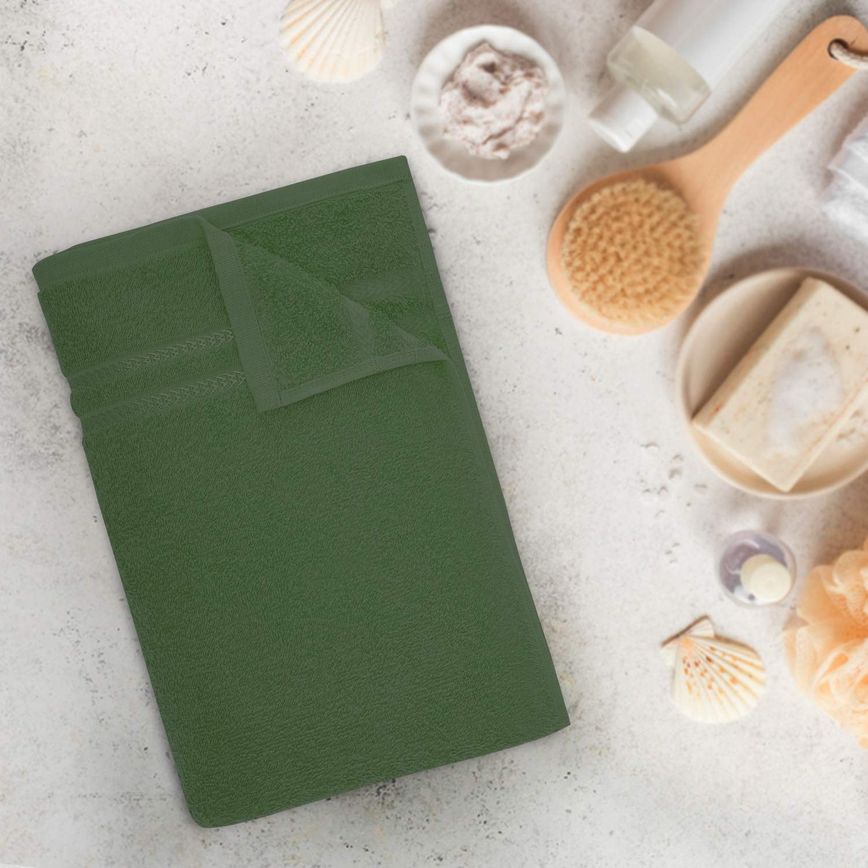 Welspun Quick Dry 375 GSM Bath Towel Green