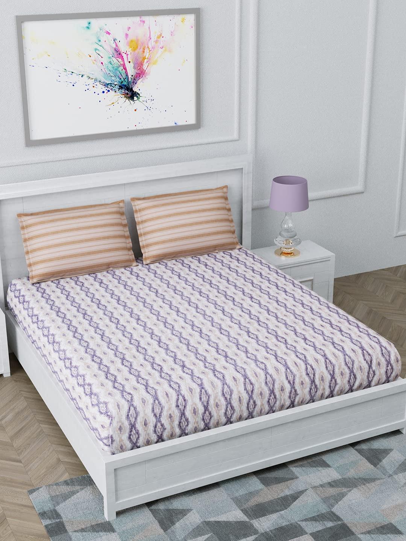 Trident Aroma Fragrance King Size Sandalwood Bed Sheet