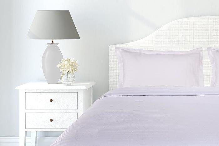pure cotton white bedsheet